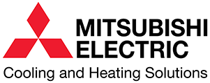 mitsubishi electric cooling and heating solutions logo Atlas Heating and Air Conditioning Inc HVAC contractor Augusta GA