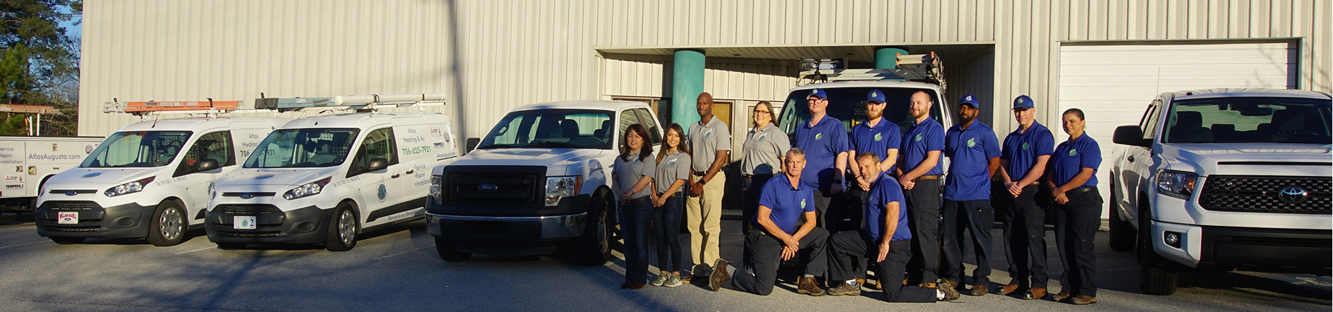 staff photo Atlas Heating and Air HVAC repair service maintenance for heater and AC Augusta GA
